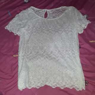 H&m lacy top