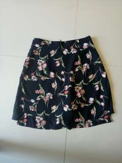 Skirt with shorts inside