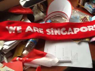 We are Singapore scarf