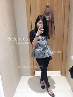 Button Long Top