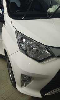 Toyota calya over kredit / take over 2017 akhir warna putih