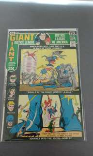 Justice League of America Giant DC bronze age comics