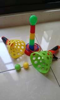 套圈玩具+拋球玩具