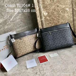 Coach sling bag 71104 gred 1:1