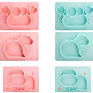 ✔️instock Baby feeding / weaning silicone placemat