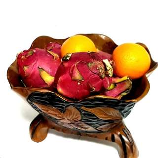 Designer Fruit Basket solid wood