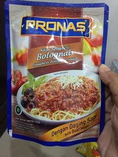 Pronas saus spagheti