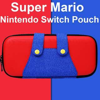 🚚 Nintendo Switch Super Mario Protective Bag Pouch Zipper Case