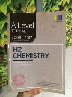 A Levels Topical Chem TYS (2008-2017)