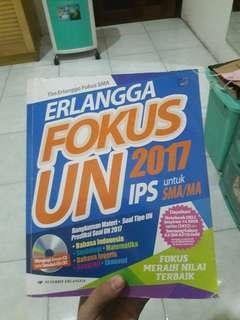 ERLANGGA FOKUS UN 2017 untuk IPS SMA/MA
