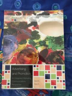 Advertising and Promotion (An Integrated Marketing Communications Perspective) [Global Edition] - Belch and Belch
