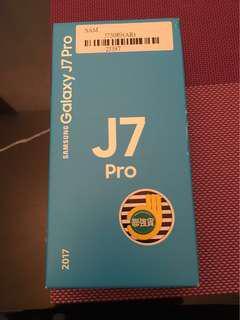 全新未拆封 粉色J7 Pro