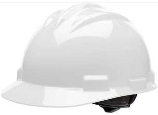 Safety helmet bullard (white,red, green) made is usa