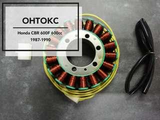 Honda CBR 600cc 1987-1990 Stator Coil W/O Grommet[DIY Set]