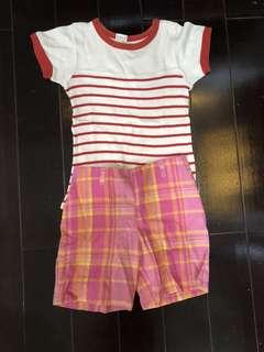 Korean baju dan celana old navy size 2 Tahun