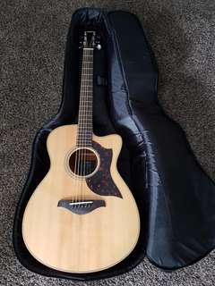 Yamaha AC1M A-series concert size cutaway acoustic-electric guitar