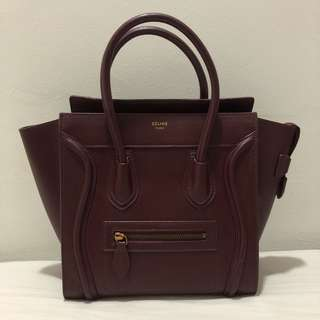 Celine Micro Luggage Inspired