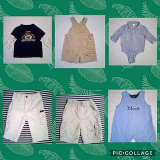 Baby Boy Clothes Bundle (fits babies 3-5 mos old)