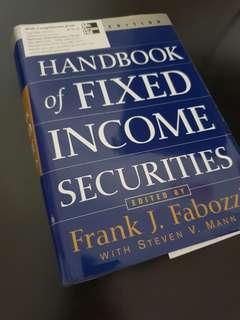 Handbook of Fixed Income Securities (Frank J Fabozzi)