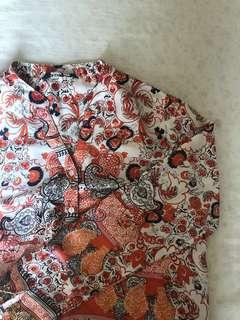padini silk blouse