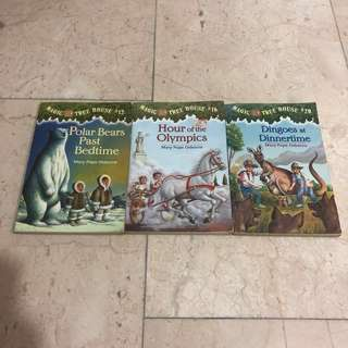 Magic Tree House Children Book #12 #16 #20