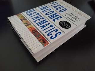 Fixed Income Mathematics (Frank J Fabozzi)