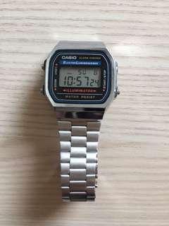 Casio 經典款電子錶 防水
