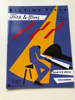 Jazz and Blues (publisher Faber)