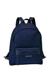 100% Authentic Longchamp Le Pliage Neo Backpack Small NAVY