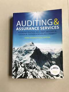 Auditing & Assurance services (3rd international edition)