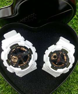 G-SHOCK & BABY-G COUPLE DUAL TIME EDITION (CDT4173PS)