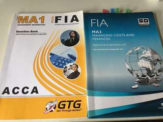 ACCA F2 (MA1 & MA2) Revision Kits
