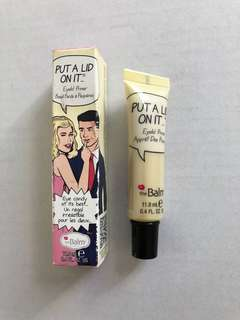 TheBalm Put A Lid On It Eye Primer, NEW in box, The Balm