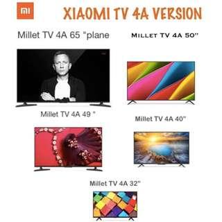 TV Xiaomi Android Smart TV Version 4A Models