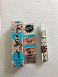Benefit Gimme Brow Gel in Shade 5, NEW in box.
