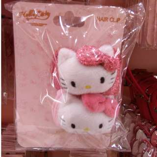 Universal Studios Hello Kitty hair clip 环球影城