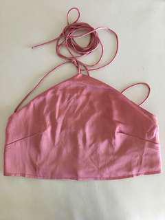 Sabo Skirt Halterneck Satin Top