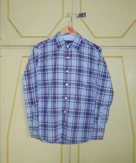 Authentic Tommy Hilfiger Checkered Button Down Shirt