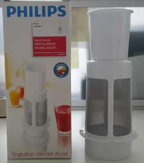 PHILIPS HR 2938 FRUIT FILTER