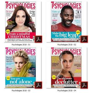 Psychologies Magazine UK 2018 [eMagazine]