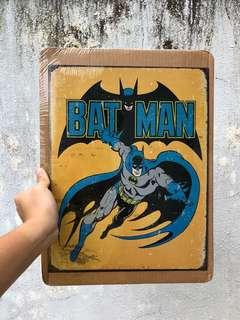 Batman Metal Sheet Poster
