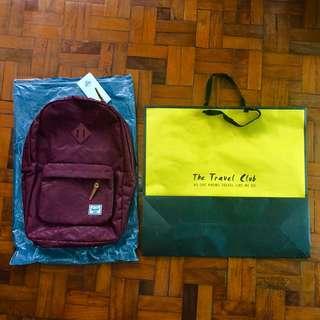 Herschel Heritage Backpack (Winemetric)