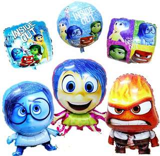 Inside out theme balloon ~