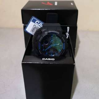G-shock (Black/Blue)