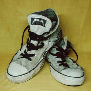 Converse Metallica justice for all White