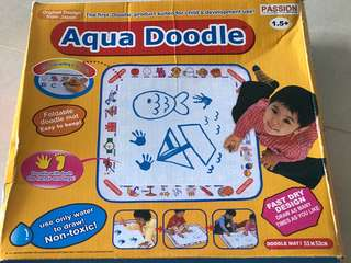 Aqua doodle from Japan