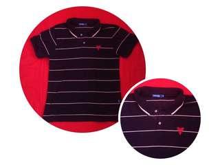 👕😍Repriced!!! Dark blue stripe polo