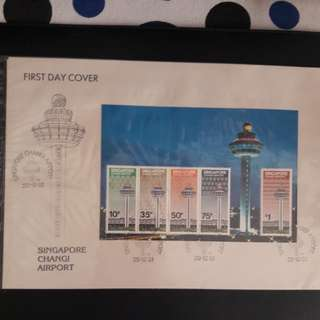 Singapore  4  pcs Pte First Day Cover