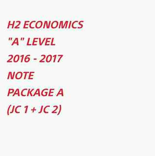 ∆ H2 ECONS NOTE (PACKAGE A) SOFTCOPY