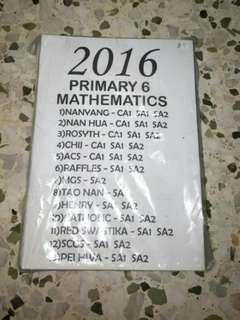 2016 Pri 6 Maths Exams Paper